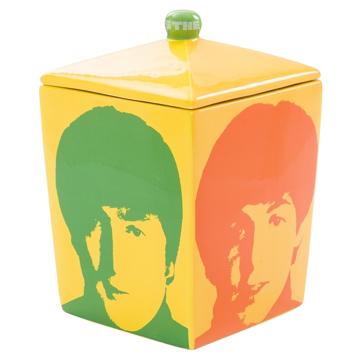 Picture of Beatles Cookie Jar: The Beatles Color Heads Cookie Jar