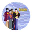 Picture of Beatles Plate: Yellow Submarine 4 pc. 10 in. Ceramic Dinner Plate Set