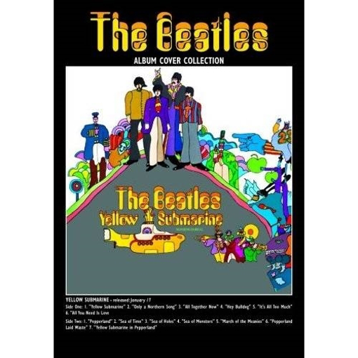 """Picture of Beatles Postcard Card: The Beatles """"Yellow Submarine"""" (Giant)"""