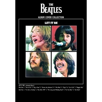 "Picture of Beatles Postcard Card: The Beatles ""Let It Be"" (Giant)"