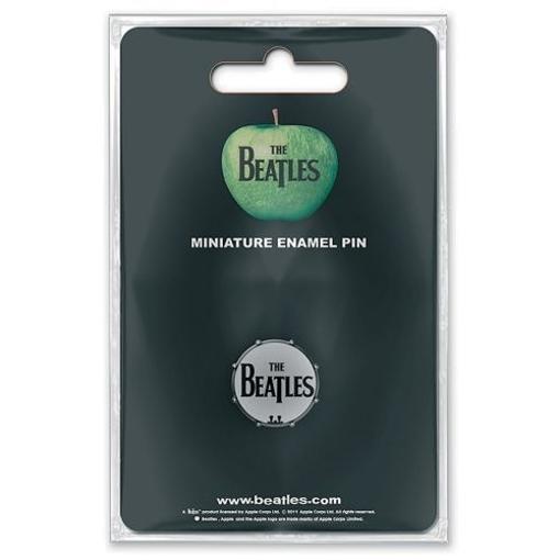 Picture of Beatles Mini Pin Badge: Drum Head Mini