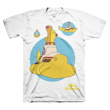 Picture of Beatles Adult T-Shirt: Yellow Submarine Beatles Bubble Sub