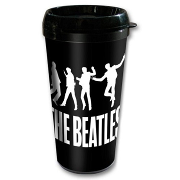 "Picture of Beatles Travel Mug: The Beatles ""Drop T"" Twist"