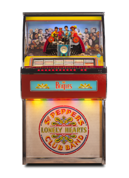 Picture of Beatles Jukebox: Sgt. Pepper's Vinyl 45 Jukebox