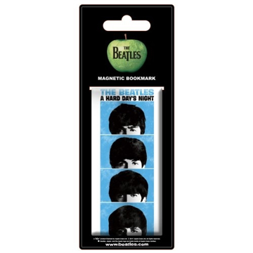 Picture of Beatles Bookmark: Magnetic Bookmark Hard Days Night Film
