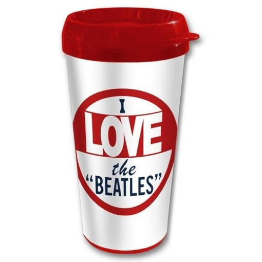 Picture of Beatles Travel Mug: I Love The Beatles