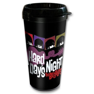 Picture of Beatles Travel Mug: A Hard Days Night