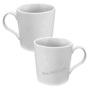 Picture of Beatles Mug: The Beatles White Album Wide Mouth