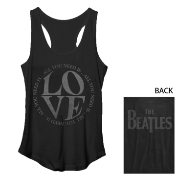 Picture of Beatles Jr's T-Shirt: Beatles Love Tank Top