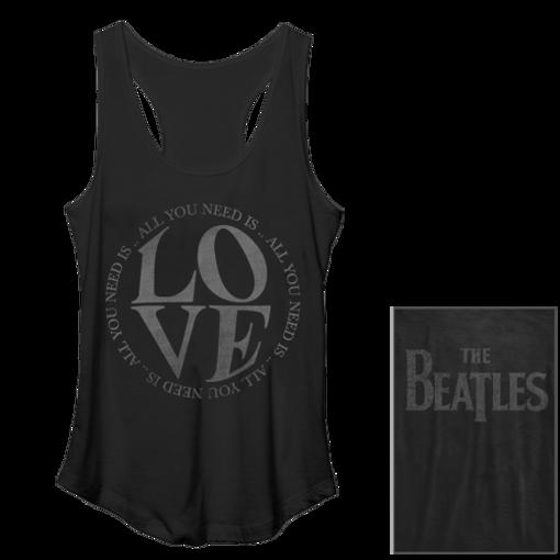 Picture of Beatles Jr's T-Shirt: Beatles Love Tank Top