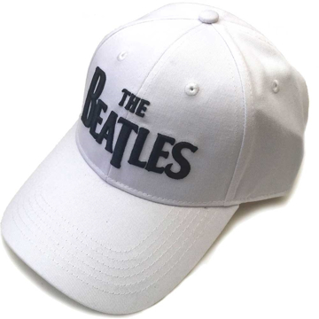 Beatles Cap  The Beatles Drop T Logo (White) 6775e1b7e549