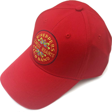 Picture of Beatles Cap: The Beatles Sgt. Pepper's Drum (Red)