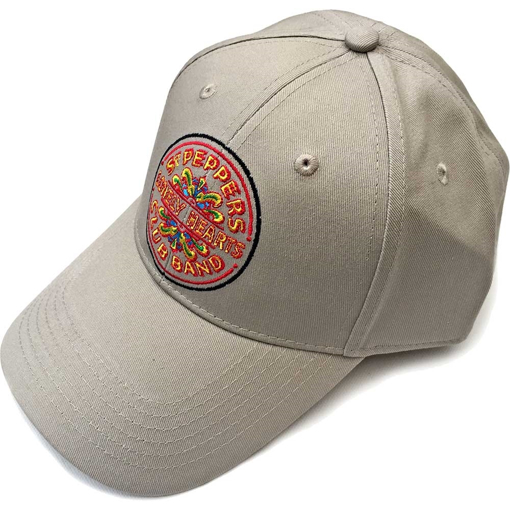 Picture of Beatles Cap: The Beatles Sgt. Pepper's Drum (Sand)
