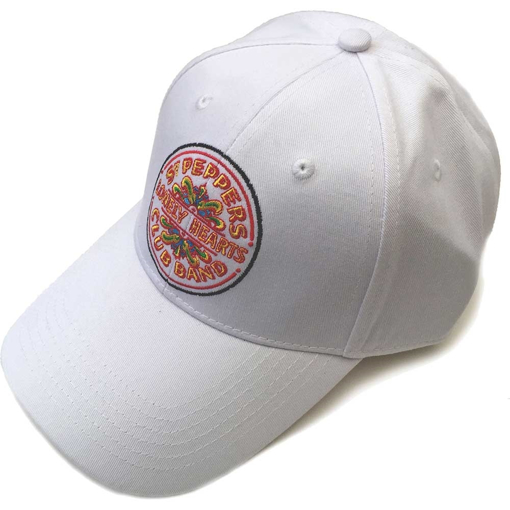 Picture of Beatles Cap: The Beatles Sgt. Pepper's Drum (White)