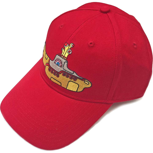 Picture of Beatles Cap: Baseball Style Yellow Submarine (Red)