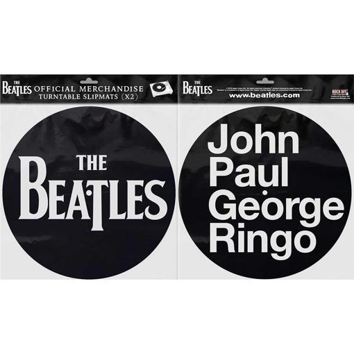 Picture of Beatles Slipmat Set: Drop T Logo & JPGR