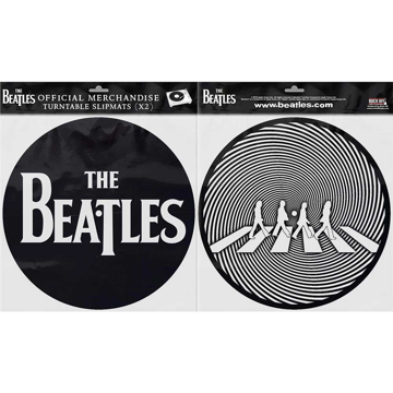Picture of Beatles Slipmat Set: Drop T Logo & Crossing Silhouette