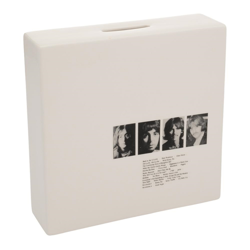 Picture of Beatles Coin Bank: The Beatles White Album Coin Bank