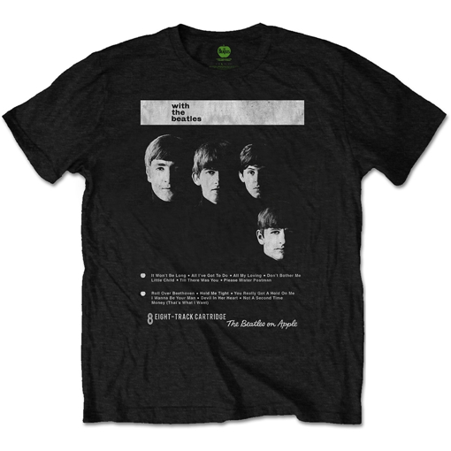 Picture of Beatles Adult T-Shirt: Beatles 8 Track With the Beatles UK Cover