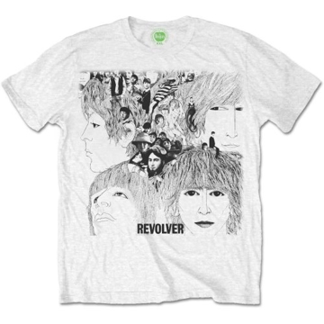 Picture of Beatles Adult T-Shirt: Beatles Classic Revolver White