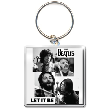 Picture of Beatles Keychain:  Let it Be Faces