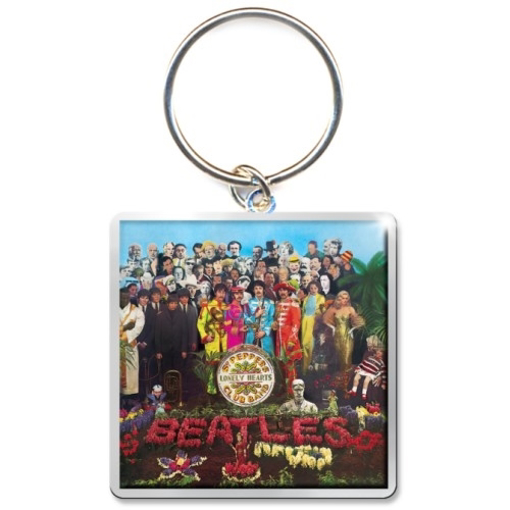 Picture of Beatles Keychain:  Sgt Pepper Album