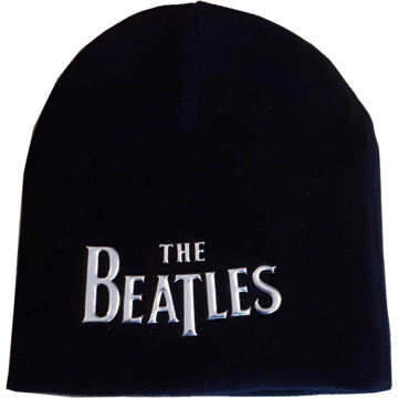 Picture of Beatles Beanie:   Drop T Logo (Sonic Silver)