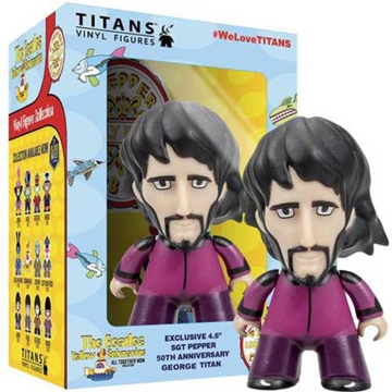 Picture of Beatles Toys: The Beatles Figurine Titans (George)