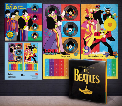 Picture of Beatles Calendar: 2019 Collector's Edition Yellow Submarine