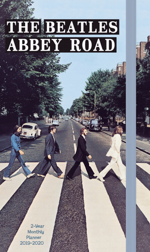 Picture of Beatles Planner: Abbey Road 2019-2020 2 Year Pocket Planner