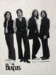 Picture of Beatles Adult T-Shirt: Beatles Iconic  Black & White