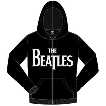 Picture of Beatles Hoodie: Drop T Logo Zipper Hoodie