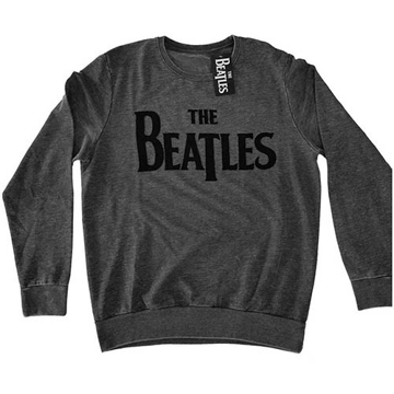 Picture of Beatles Sweat Shirt: Drop T Grey