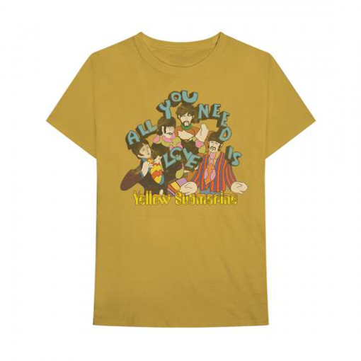 Picture of Beatles Jr's T-Shirt: Yellow Submarine - All You Need is Love