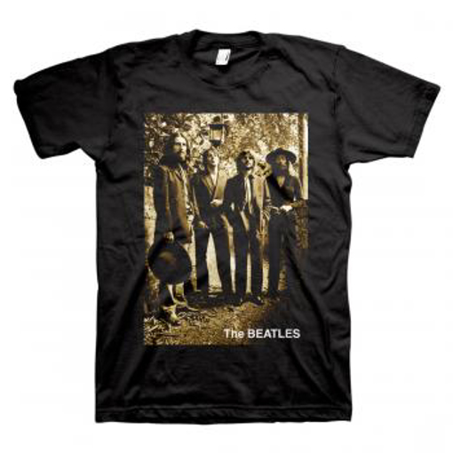 Picture of Beatles Adult T-Shirt: Cowboy Beatles
