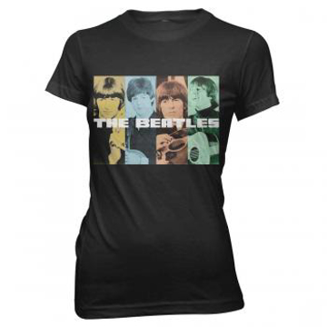 Picture of Beatles Jr's T-Shirt: Fashion Tee Beatles Color Squares
