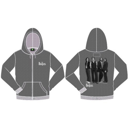 Picture of Beatles Hoodie: White Album Pullover with Hood