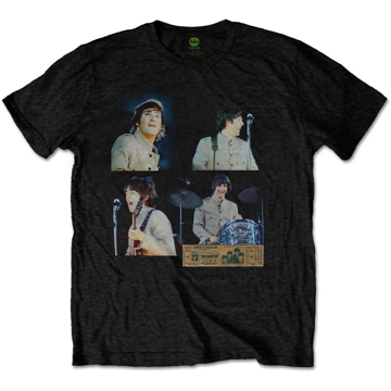 Picture of Beatles Adult T-Shirt: Shea Stadium Shots