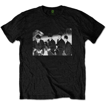 Picture of Beatles Adult T-Shirt: Smiles Having a Laugh