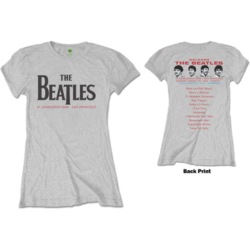 Picture of Beatles Jr's T-Shirt: Candlestick Park 1966 Set List