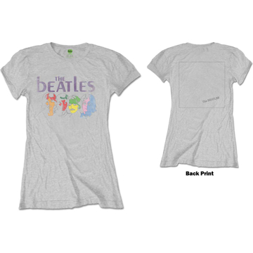 Picture of Beatles Jr's T-Shirt: White Album Color Faces