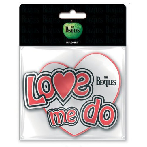 Picture of Beatles Rubber Car Magnet: Love Me Do