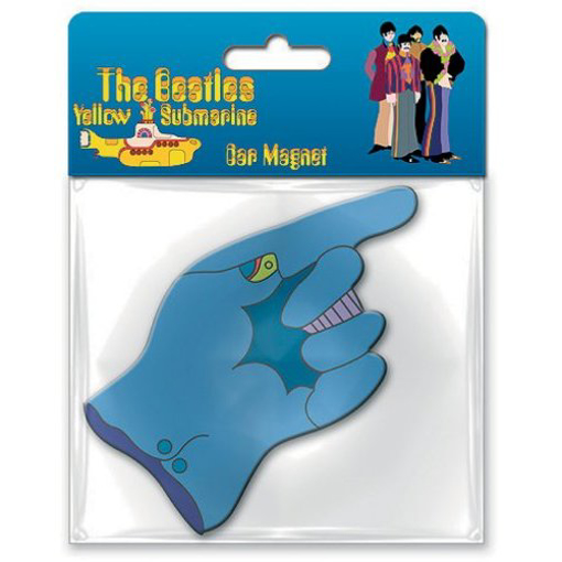 Picture of Beatles Rubber Car Magnet:  The Flying Glove