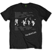 Picture of Beatles Adult T-Shirt: White Album Song Tracks
