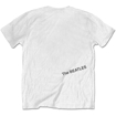 Picture of Beatles Adult T-Shirt: White Album Song Tracks - White Tee