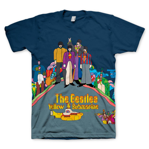 Picture of Beatles Adult T-Shirt: Yellow Submarine Sublimation