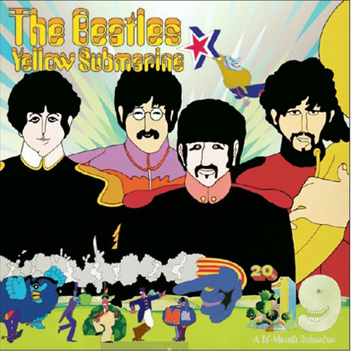 Picture of Beatles Calendar: 2019 The Beatles Yellow Submarine