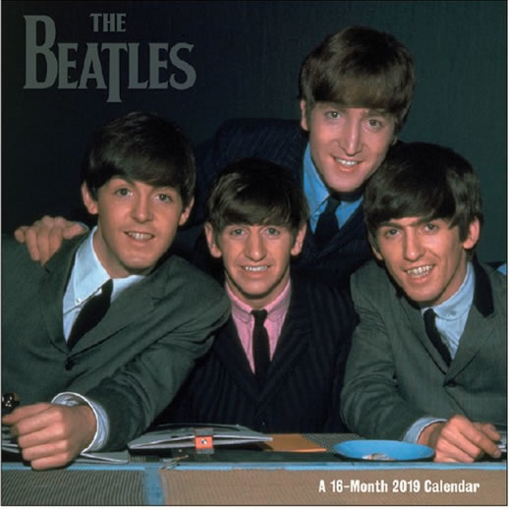 Picture of Beatles Calendar: 2019 The Beatles 16 Month Wall Calendar