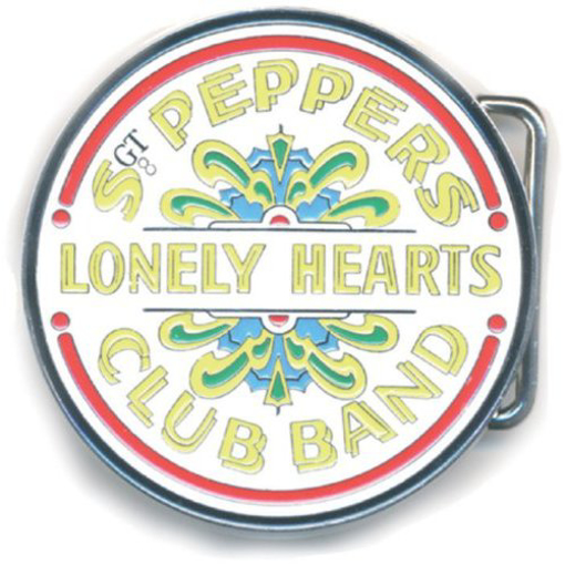 Picture of The Beatles Belt Buckle: Sgt Pepper Drum