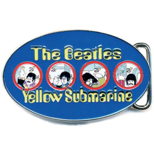 Picture of The Beatles Belt Buckle:  Yellow Submarine Portholes